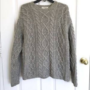 J Crew knit oversized sweater